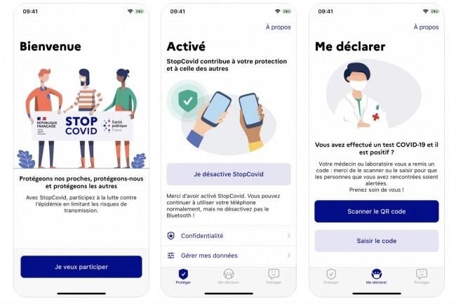 StopCovid est disponible sur l'App Store (ci-dessus) et sur la boutique Google Play. (Cr�dit : StopCovid)