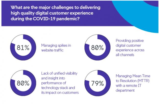 80 % des technophiles estiment que la performance des applications et des services numériques est essentielle à leur activité pendant cette période.