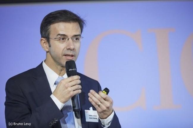 Gabriel Ferreira, directeur technique de Pure Storage France, dévoile les innovations de Purity 6.
