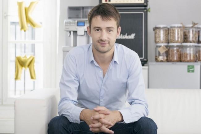 En 2011, Antoine Durieux (ci-dessus), PDG d'Alkemics, a co-fondé la société avecAntoine Perrin, directeur technique, et Benoit Portoleau-Balloy, directeur général.(Crédit : Alkemics)