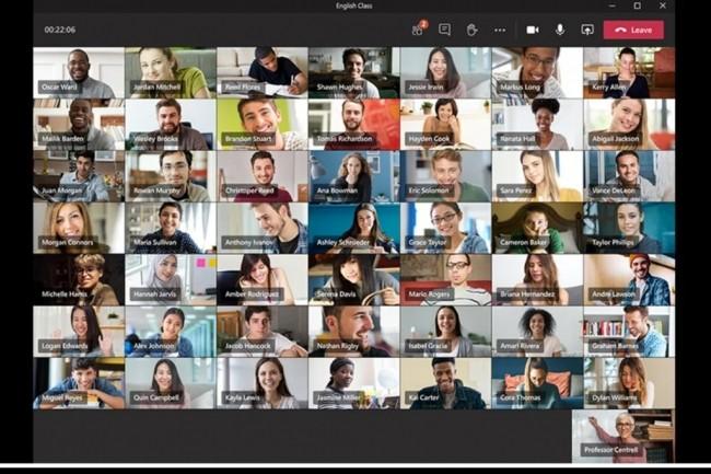 Microsoft Teams for Education prépare l'automne avec une grille de haut-parleurs 7x7, un suivi analytique plus approfondie.