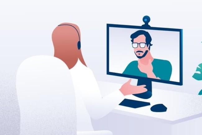 Avec le développement de la téléconsultation, Doctolib a travaillé avec Tanker pour chiffrer de bout en bout les communications patient-professionnel de santé. (Crédit Photo : Doctolib)