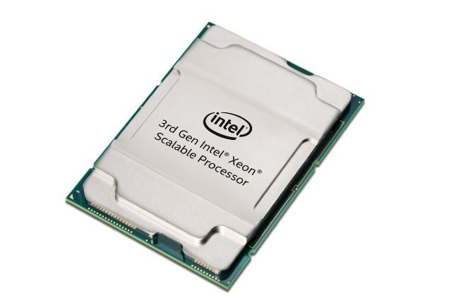 Toujours gravées en 14 nm, les puces Xeon Cooper Lake-SP travaillent avec un jeu de composants Intel C620A. (Studio Intel)