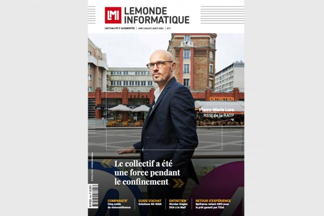 En couverture de notre numéro 3, Pierre-Marie Lore, RSSI à la RATP.
