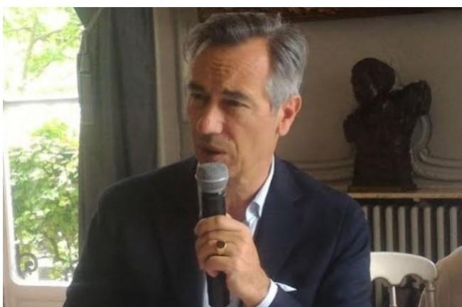 Godefroy de Bentzmann, président de Syntec Numérique souhaite accélérer la transformation numérique avec un plan d'investissement massif dans les technologies.  Crédit photo: D.F.