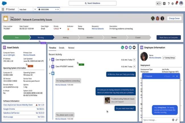 En dehors de l'investissement estimé à 100 millions de dollars dans Tanium, Salesforce a noué un partenariat fort avec le spécialiste de cybersécurité. (Crédit Photo : Salesforce)