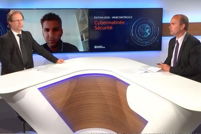 Pour la 5e étape de la Cybermatinée Sécurité du Monde Informatique en Nouvelle-Aquitaine, Steve Hervé RSSI de Cdiscount a été l'invité du grand entretien de la rédaction de LMI. (crédit : LMI)