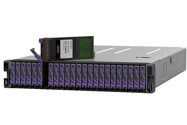 Il s'agit de la génération 3.1 du Ultrastar DC SN840 de Western Digital. (Crédit : Western Digital)