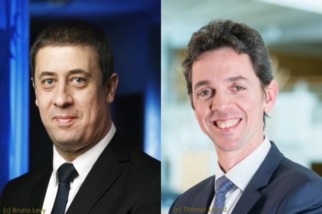 Christophe Salomon (à gauche) serait remplacé par Vincent Niebel (à droite).