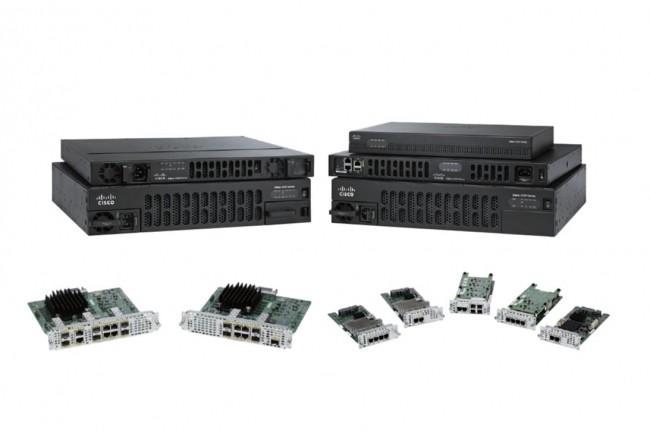 Les modules SM-X et ESp-X répondent aux besoins croissants en matière de débit et de performances de chiffrement au niveau des sites qui servent de hubs d'agrégation à la périphérie du cloud. (Crédit Cisco)