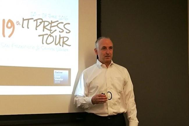 Brian Biles, CEO et cofondateur de la start-up Datrium, a donc accepté l'offre de VMware. (Crédit D.R.)