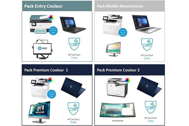 HP propose quatre offres jusqu'� la fin du mois d'ao�t. (Cr�dit : HP)