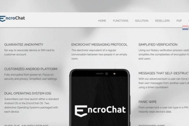 Des smartphones chiffrés EncroChat étaient vendus 1 000 euros couplés à un service de messagerie et de support à l'international tarifé 1 500 euros pour 6 mois pour assurer les actions délictuelles de dizaines de milliers de criminels dans le monde. (crédit : D.R.)