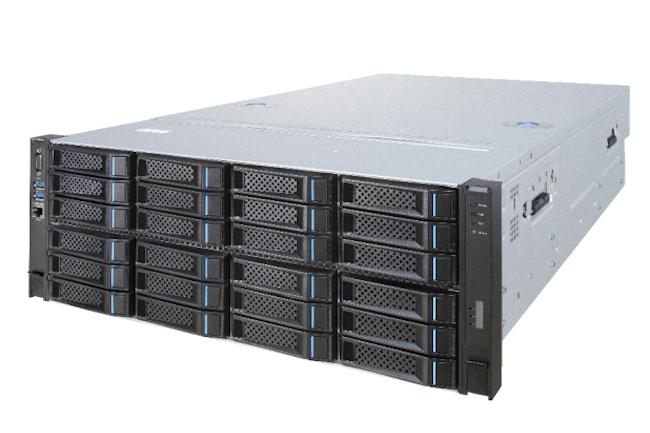 Inspur est le 3e plus grand fabricant de serveurs au monde derrière  Dell et HPE. (Crédit Inspur)