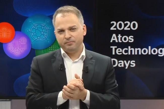 « La décarbonisation va devenir un business et on va décarboner l'activité de nos clients », a lancé Elie Girard, directeur général d'Atos à l'occasion d'un point presse d'ouverture de l'événement Technologies Days ce mardi 7 juillet 2020. (crédit : D.R.)