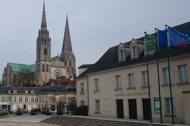 Un retour à la normal « dans les plus brefs délais » est espéré par le Conseil départemental d'Eure-et-Loir après la cyberattaque dont elle a été victime ce week-end. (crédit : creative commons / wikipedia)