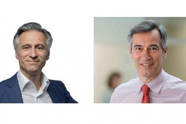 Tous deux coprésidents et cofondateurs de Devoteam Stanislas de Bentzmann (à gauche) avec son frère Godefroy de Bentzmann. (crédit : D.R.)