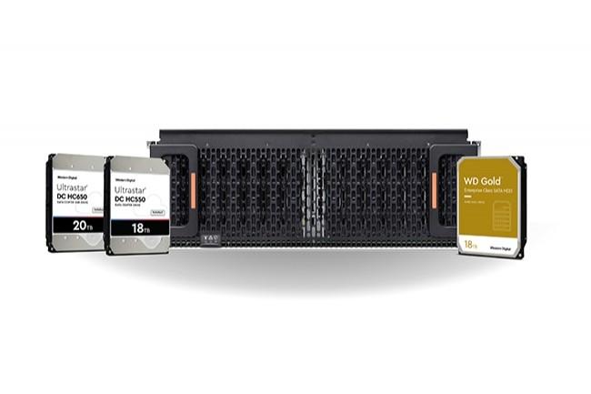 Les disques durs de classe entreprise s'�toffent avec des capacit�s de 18 et 20 To (Cr�dit : Western Digial)