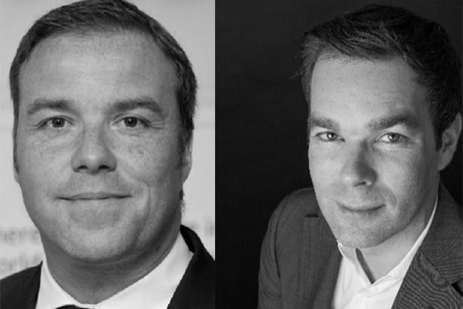 Martin Brown (à gauche) a été promu vice-président EMEA de Rubrik et Jan Ursi dirigera le channel de la région. (Crédit : Rubrik)
