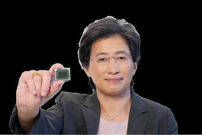 Une seconde vague d'ordinateurs portables animés par la puce mobile Ryzen 4000, a indiqué Lisa Su, CEO d'AMD, lors du point financier du fournisseur. (Crédit AMD)
