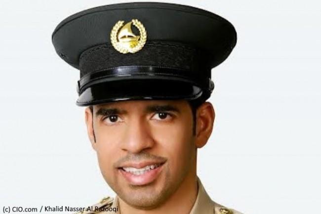 Khalid Nasser Al Razooqi est directeur du département d'intelligence artificielle de la police de Dubaï.