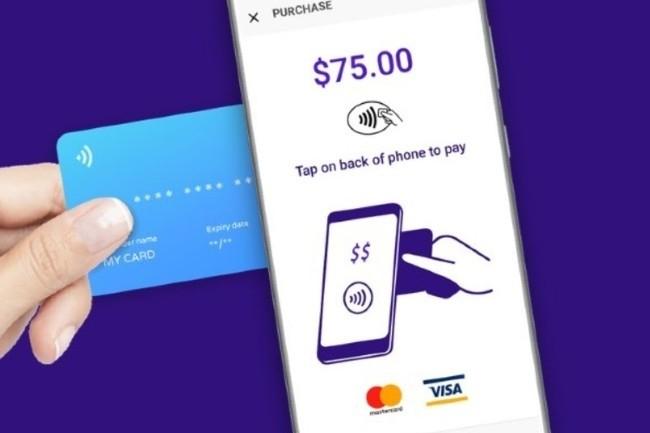 Mobeewave permet de payer en NFC en apposant une carte de crédit ou un smartphone sur un autre smartphone (Photo Mobeewave)