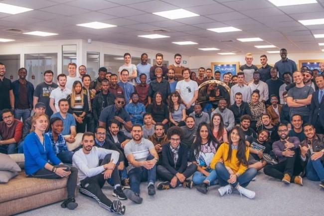 L'école d'informatique Supinfo (ci-dessus une partie de la promotion 2019 à Paris), risque bientôt de disparaître. (Crédit photo: Supinfo)