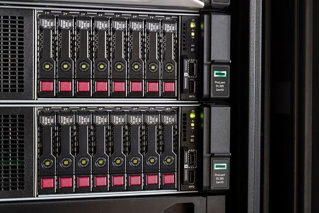 Pour bénéficier de l'offre, les licences Windows Server 2019 ne peuvent être souscrites qu'avec l'achat d'un nouveau serveur HPE ProLiant équipé de processeurs AMD Epyc « Rome » et ne peuvent être achetées seules, sans un nouveau serveur. (Crédit : HPE)