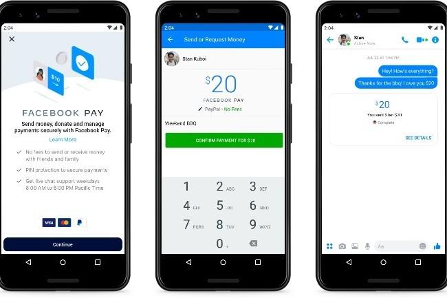 Facebook veut bâtir une stratégie de paiement cohérente autour de Facebook Pay (Image Facebook)