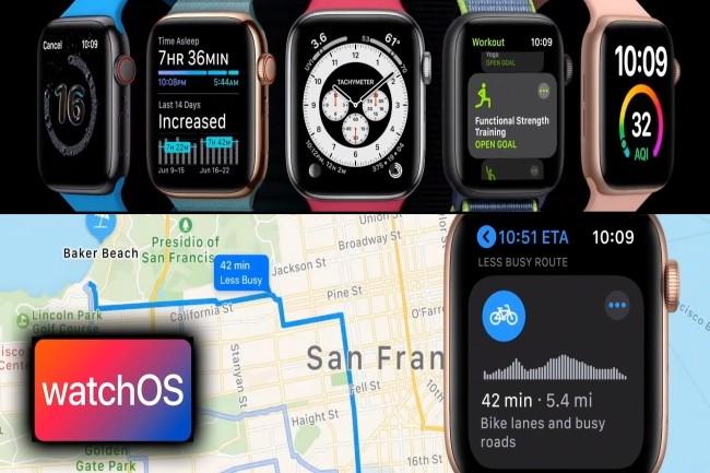 Plusieurs évolutions sont attendues dans WatchOS7. (Crédit Photo: IDG)