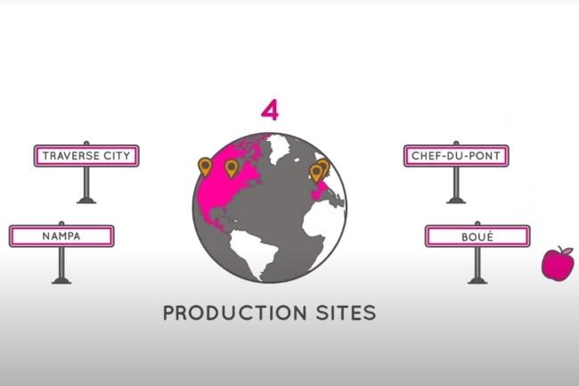 Les 4 sites de productions du groupe MOM ont été mis à l'arrêt suite à l'attaque intervenue le 4 août dernier. (Crédit Photo : MOM)