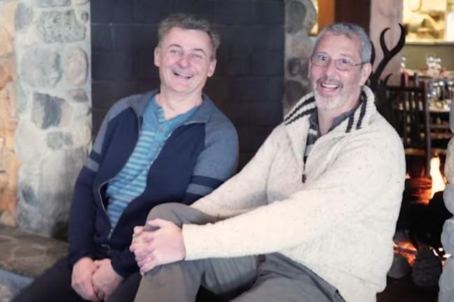 Benoît Dageville (à gauche), président de Snowflake, et Thierry Cruanes, CTO, ont créé en 2012 la société pour concevoir la base de données analytique cloud répondant à leurs exigences. (Crédit : Snowflake)