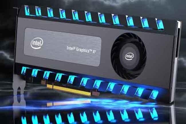 Challenger sur ce marhé, Intel compte bien imposer sa carte graphique discrète Xe sur le marché grand public. (Crédit Intel)