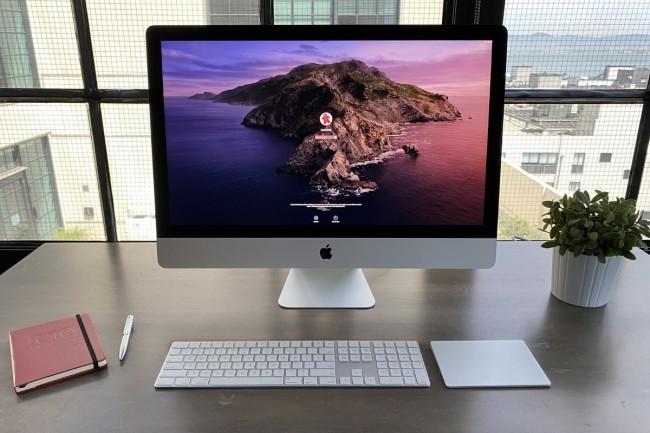 Dernière génération d'iMac avec une puce Intel, Apple ayant annoncé le passage à marche forcée vers l'architecture ARM. (Crédit IDG)