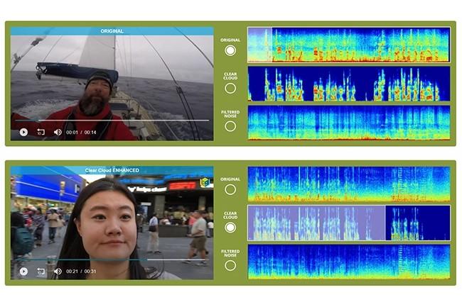 L'algorithme de BabbleLabs permet de supprimer quasi totalement le bruit ambiant quel que soit l'environnement et la langue dans laquelle la personne s'exprime. (Crédit : BabbleLabs)