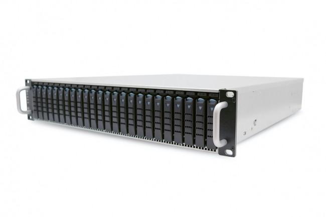 L'hyperviseur d'Exten s'installe sur des serveurs x86 ou ARM pour créer un pool de stockage flash NVMe-oF. (Crédit AIC)