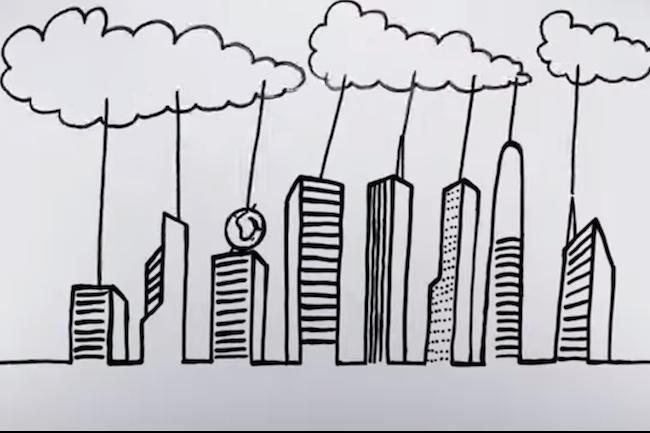 Le passage au cloud se fait à petits pas dans les entreprises. (Crédit D.R.)