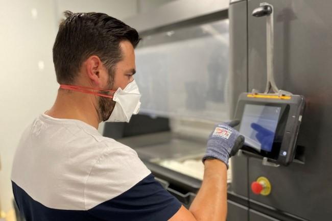 Decathlon fait partie des entreprises qui exploitent le plus les syst�mes Multi Jet Fusion 4200 et 5200 d'HP en France. (cr�dit : Decathlon)