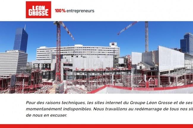 Le groupe Léon Grosse a fait état de son ransomware le 26 août 2020. (crédit : Leon Grosse)