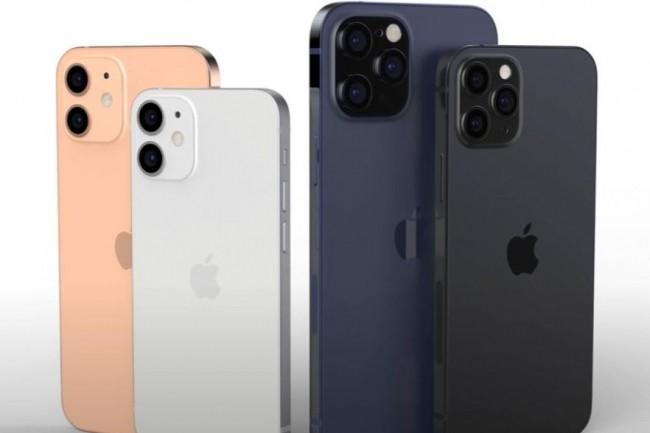 Une famille - concept art - d'iPhone 12 en attendant leur révélation par Apple a priori dans les prochaines heures. (crédit : EverythingApplePro)