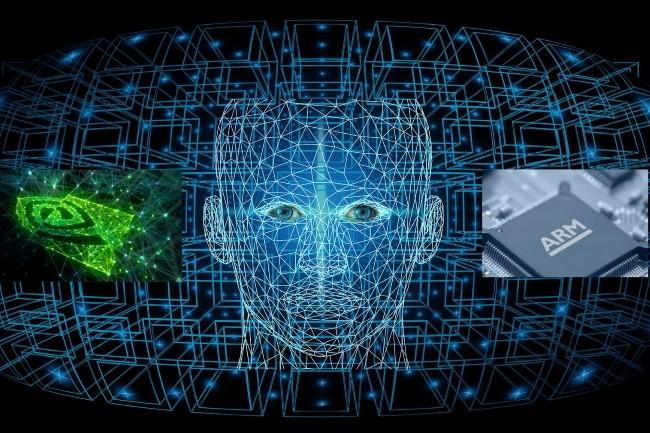 Avec le rachat d'ARM, Nvidia veut devenir un géant de l'IA. (Crédit Photo : Geralt/Pixabay)