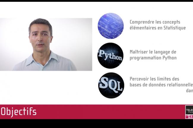 France universit� num�rique pr�sente deux formations en ligne � suivre d�s la rentr�e 2020, dont l�une, ax�e big data, enseigne les bases en mati�re de traitement de donn�es. Cr�dit photo�: Fun.