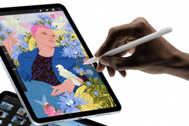 L'iPad Air 2020 est compatible avec l'Apple Pencil de 2e Gen. (crédit : Apple)