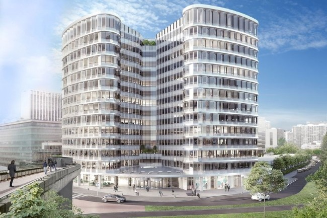 Le campus cyber s'installera à la Défense où il devrait s'ouvrir en septembre 2021. (Crédit Photo : ParisLaDéfense)