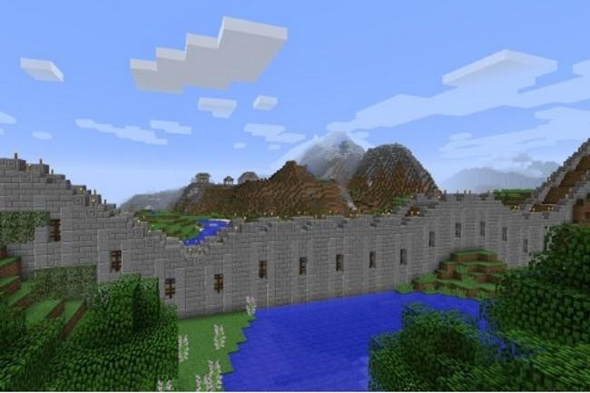 Un concours d'IA est organisé dans Minecraft. (Crédit Photo: Microsoft)