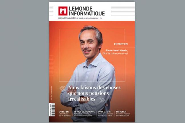 Le grand témoin de ce numéro d'automne de LMI MAG est Pierre-Henri Havrin, DRH de la banque Nickel. (Crédit Bruno Levy)