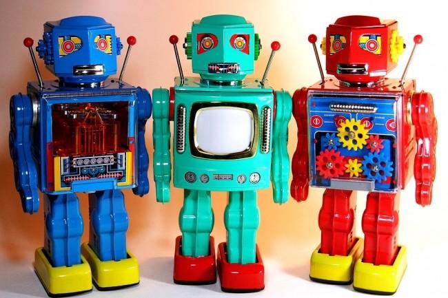 Des robots logciels pour assurer l'automatisation des processus répétitifs. (crédit D J Shin - Own work, CC BY-SA 3.0)