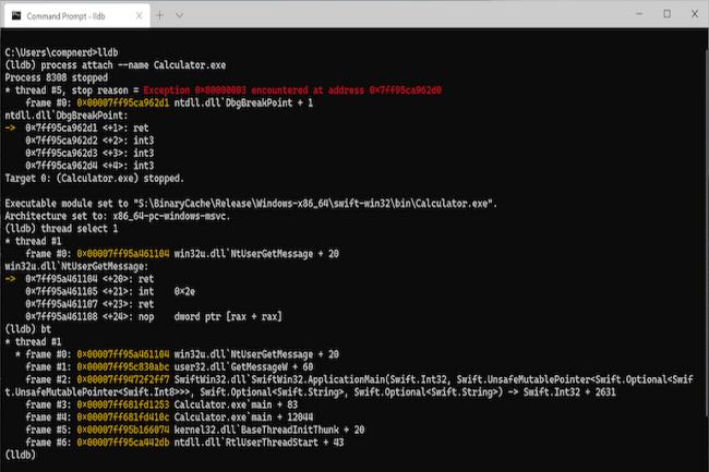 Un premier exemple de développement d'une calculatrice en Swift sur Windows 10 a été réalisé. (Crédit Photo : Apple)