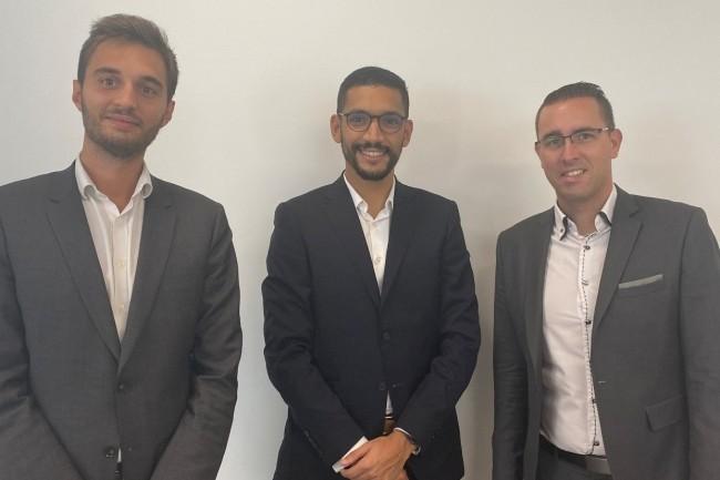L'agence lyonnaise de CHG-Meridian est pilotée par Younes El Kaissoumi (au centre). (Crédit : D.R.)