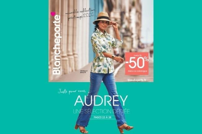 A partir d'une analyse du comportement de la cliente, 24 pages sur les 60 de son catalogues sont adapt�es � son profil. (Photo Blancheporte)